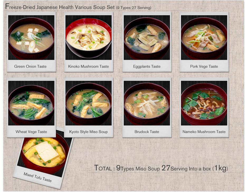 Asian survival food